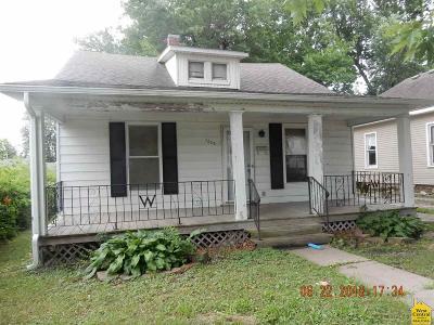Sedalia MO Single Family Home For Sale: $40,900