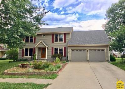Johnson County Single Family Home Sale Pending/Backups: 1615 Roanoke Dr