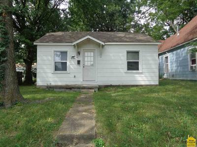 Sedalia MO Single Family Home For Sale: $45,000