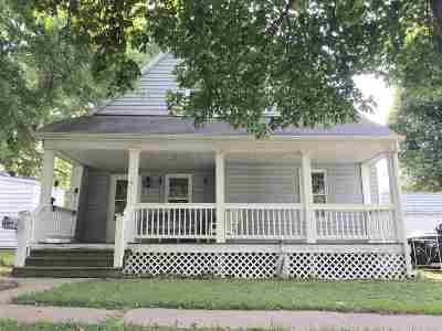 Sedalia Single Family Home Sale Pending/Backups: 1912 S Quincy