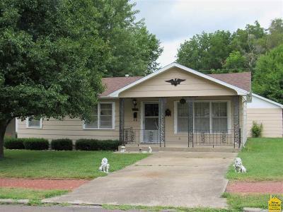 Sedalia Single Family Home Sale Pending/Backups: 1521 E 6th