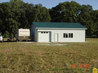 Benton County, Henry County, Hickory County, Saint Clair County Single Family Home For Sale: 282 SE 1273 Pvt Rd.