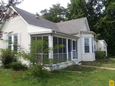 Sedalia MO Single Family Home For Sale: $29,900