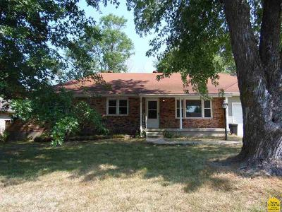Sedalia MO Single Family Home For Sale: $104,900