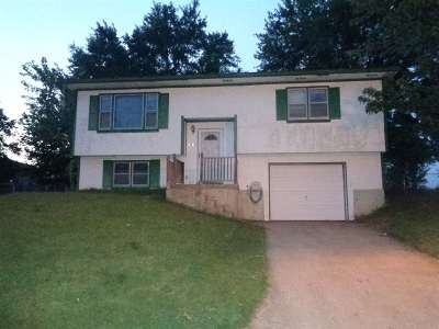 Sedalia MO Single Family Home For Sale: $40,800