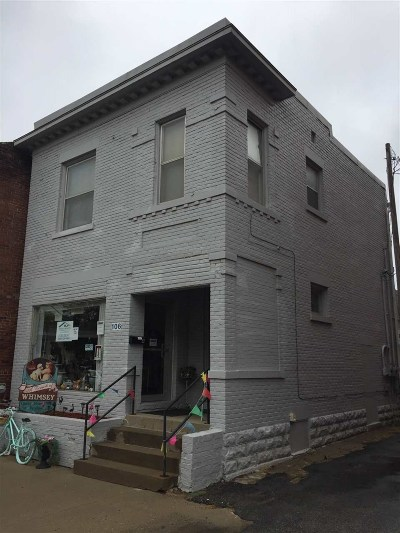 Sedalia Commercial For Sale: 106 W 5th