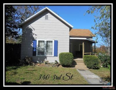 Single Family Home For Sale: 340 3rd St