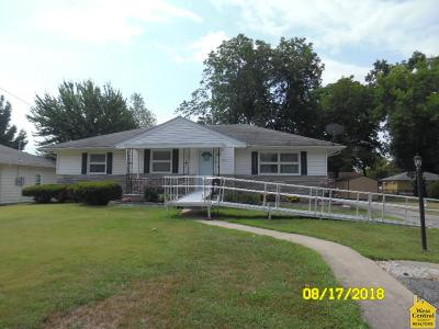 Henry County Single Family Home Sale Pending/Backups: 404 E Clinton