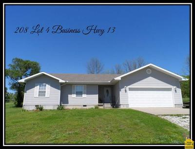 Osceola Single Family Home For Sale: 208 Bus Hwy 13