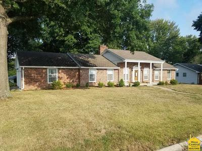 Clinton MO Single Family Home For Sale: $121,600