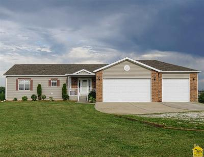 Johnson County Single Family Home Sale Pending/72 Hr Clause: 543 NW 1421st Road
