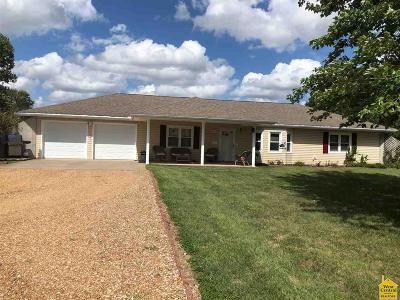 Sedalia Single Family Home Sale Pending/Backups: 1502 36th Street Ln