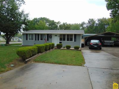 Sedalia MO Single Family Home For Sale: $109,000