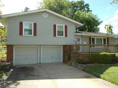 Sedalia MO Single Family Home For Sale: $189,000