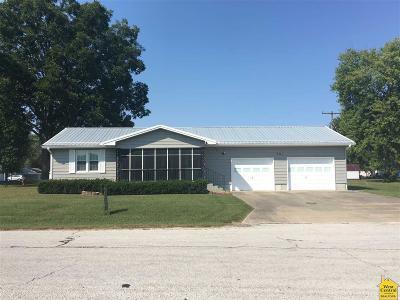 Lincoln Single Family Home Sale Pending/Backups: 301 N Maple St
