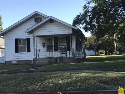 Sedalia Single Family Home Sale Pending/Backups: 1100 E 16th
