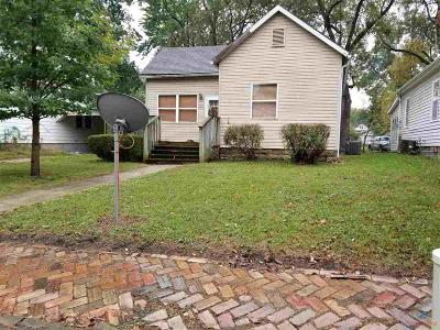 Clinton MO Single Family Home For Sale: $47,000