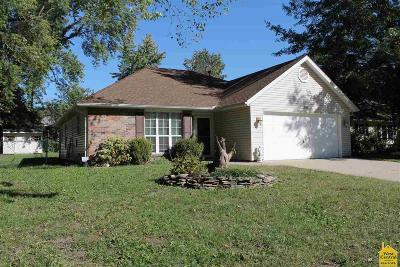 Sedalia MO Single Family Home Sale Pending/Backups: $133,900
