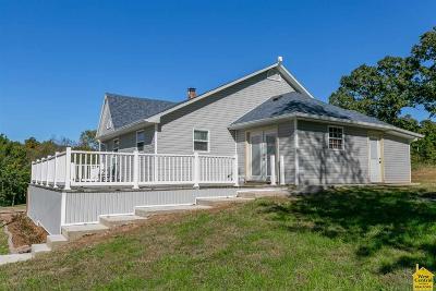 Sedalia MO Single Family Home For Sale: $155,000