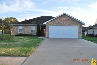 Clinton MO Single Family Home For Sale: $141,500