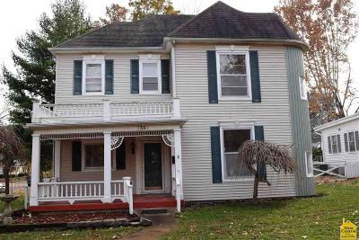 Sedalia MO Single Family Home For Sale: $150,000