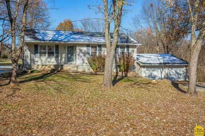 Sedalia Single Family Home For Sale: 25745 Anderson School Rd