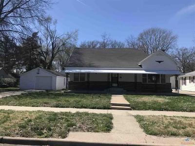 Sedalia MO Single Family Home For Sale: $149,900