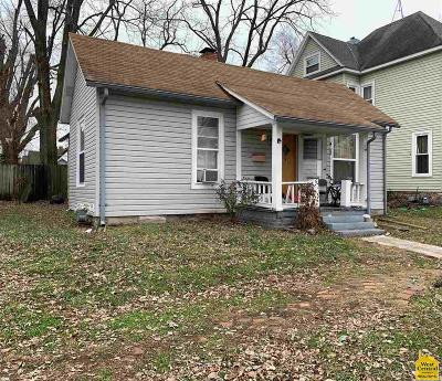 Sedalia Single Family Home For Sale: 1609 S Vermont