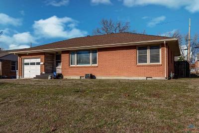 Sedalia MO Single Family Home For Sale: $124,900