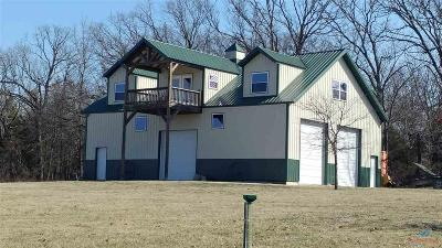 Deepwater Single Family Home For Sale: 874 SE 421 Pvt Rd