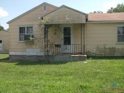 Sedalia MO Single Family Home For Sale: $110,000
