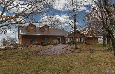 Henry County Single Family Home Sale Pending/Backups: 752 SW 501 Rd