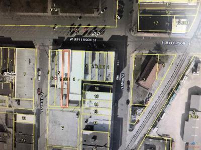 Clinton Commercial For Sale: 114 W Jefferson St.