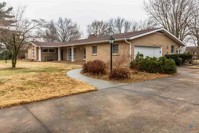 Sedalia MO Single Family Home Sale Pending/Backups: $194,900