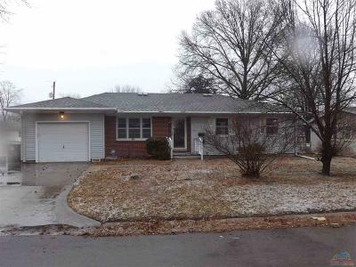 Sedalia MO Single Family Home For Sale: $117,500