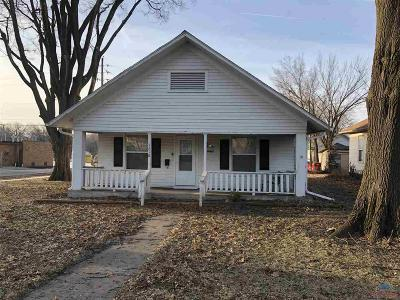 Sedalia MO Single Family Home For Sale: $58,500