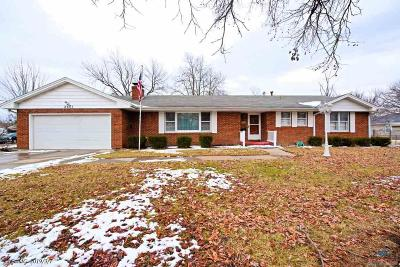 Sedalia Single Family Home Sale Pending/Backups: 2601 Skyline