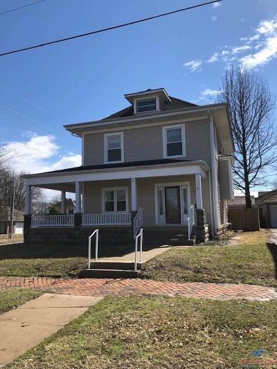 Henry County Single Family Home For Sale: 216 E Jefferson
