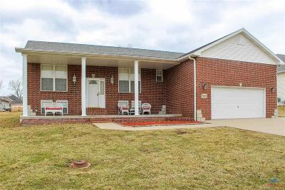 Sedalia Single Family Home For Sale: 3660 Flat Creek Dr.