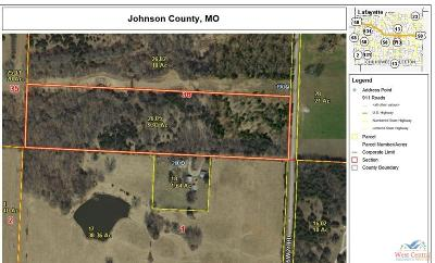 Warrensburg MO Residential Lots & Land For Sale: $74,475