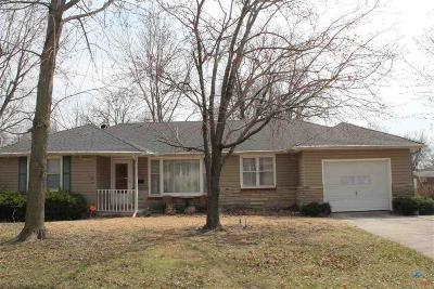 Sedalia Single Family Home Sale Pending/Backups: 2303 W 11th