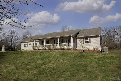 Benton County, Henry County, Hickory County, Saint Clair County Single Family Home For Sale: 27103 Banner Av