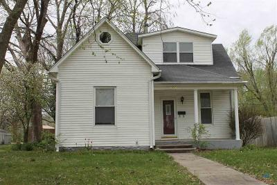 Sedalia Single Family Home Sale Pending/Backups: 1838 S Barrett