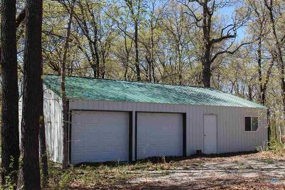 Benton County, Henry County, Hickory County, Saint Clair County Single Family Home For Sale: 289 SW 1273 Pvt Rd