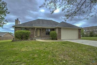 Johnson County Single Family Home Sale Pending/Backups: 1592 Essex Dr
