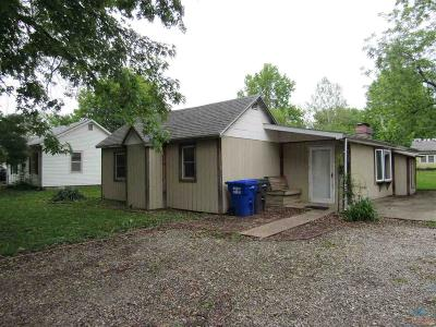 Sedalia Single Family Home Sale Pending/Backups: 1609 E 11th