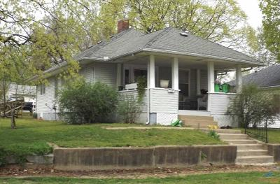 Sedalia MO Single Family Home For Sale: $68,500