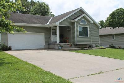 Sedalia MO Single Family Home For Sale: $179,000