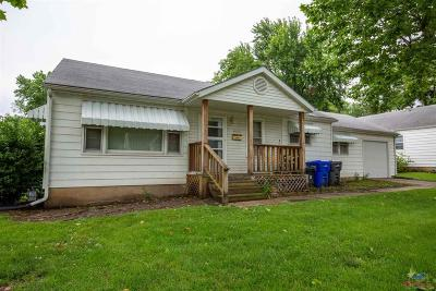 Sedalia Single Family Home For Sale: 1024 Wilkerson St.