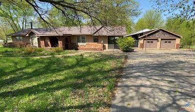 Sedalia MO Single Family Home For Sale: $225,000